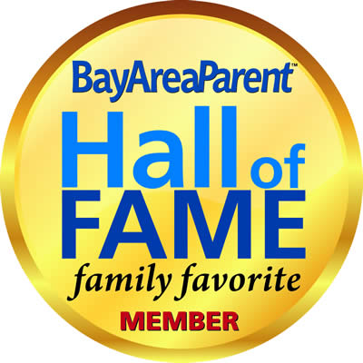 Bay Area Parent award Hall of Fame Aunt Ann's