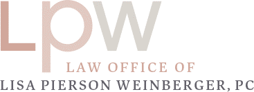 Lisa Pierson Weinberger Law Office logo